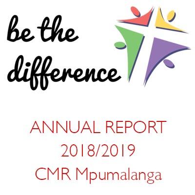 ANNUAL REPORT 2018/2019 CMR Mpumalanga